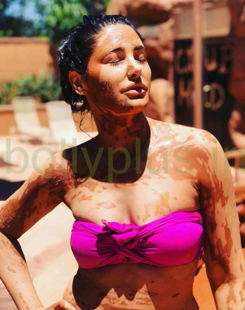 Nargis fakhri california sun mud bath